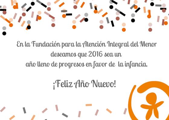 Felicitación Año Nuevo FAIM