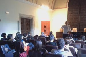 Conferencia Silberio Sáez en Teruel