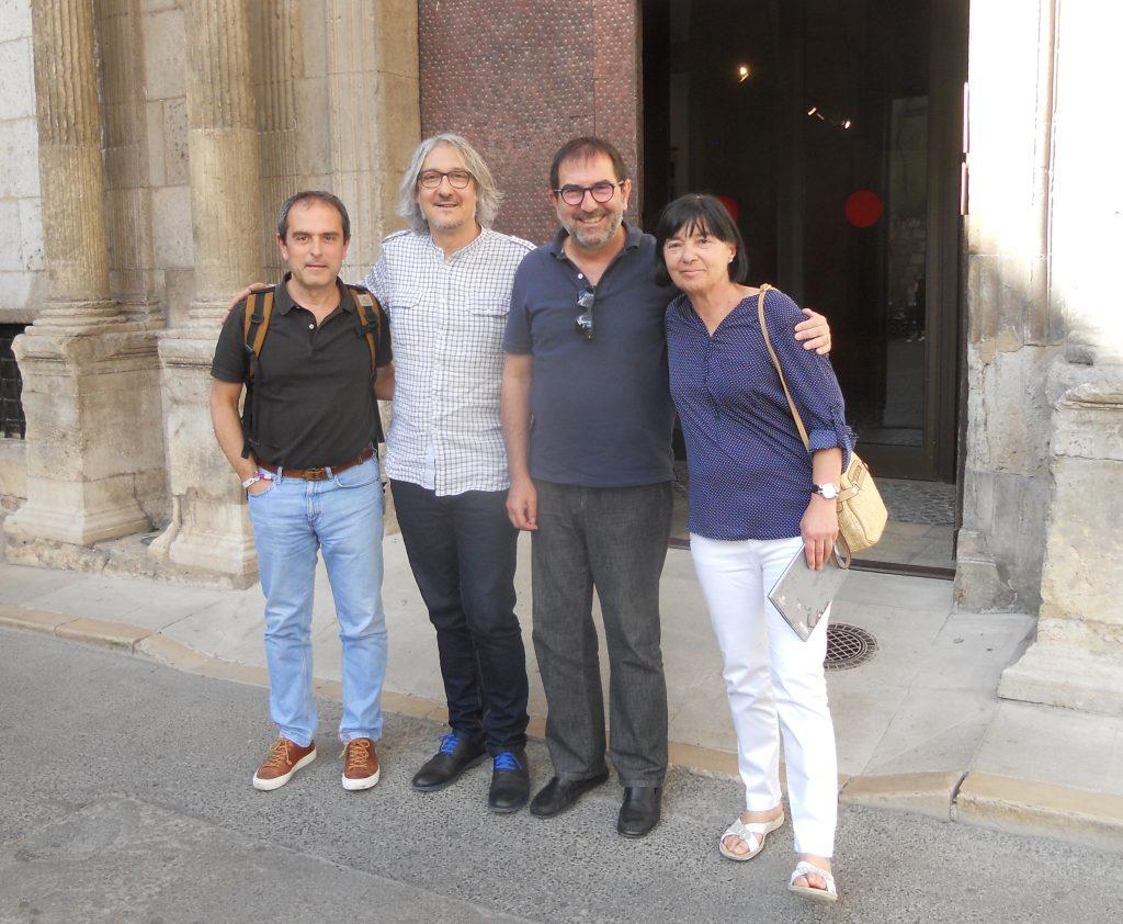 Equipo de FAIM en Teruel