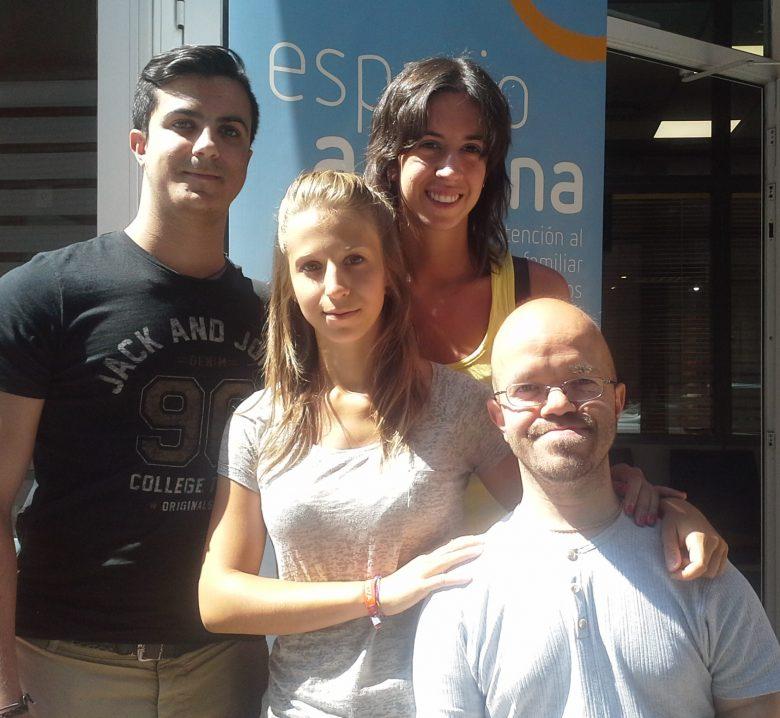 María, Francesca, Jorge y Francisco, mentores de FAIM