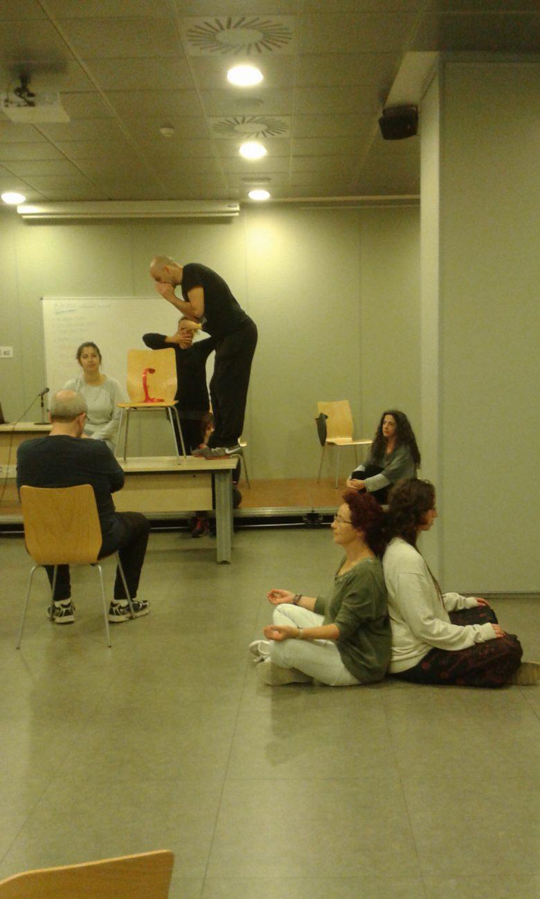 Imagen del taller de Teatro Social 1