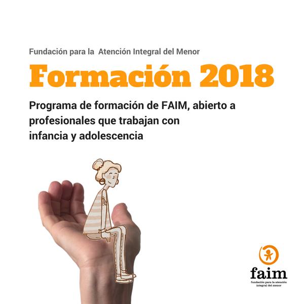 Fundación para la Atención Integral del Menor | Formación 2018