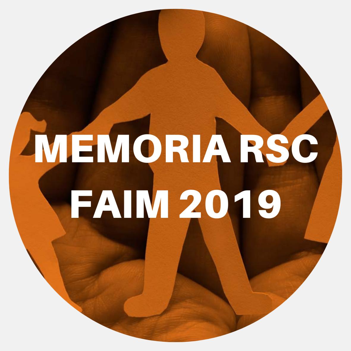 memoria rsc 2019