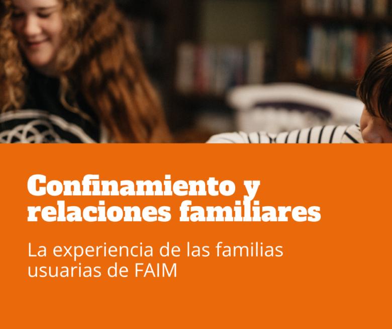 familias y confinamiento